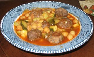 meatball-garbanzo-stew