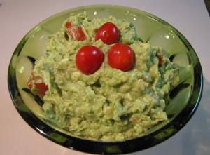 Heather's guacamole
