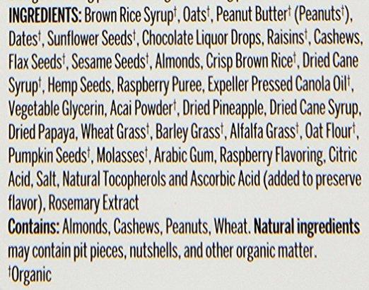 Pro Bar Ingredients_